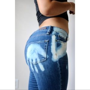 Distressed Custom Denim Jeans